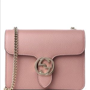 Gucci Dollar calfskin Interlocking Crossbody Bag